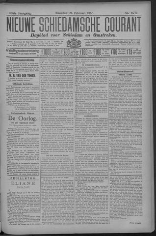 Nieuwe Schiedamsche Courant 1917-02-26