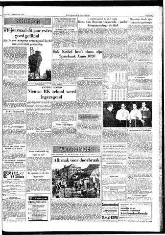 Rotterdamsch Nieuwsblad / Schiedamsche Courant / Rotterdams Dagblad / Waterweg / Algemeen Dagblad 1959-02-03