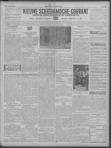 Nieuwe Schiedamsche Courant 1933-08-01