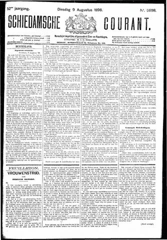 Schiedamsche Courant 1898-08-09