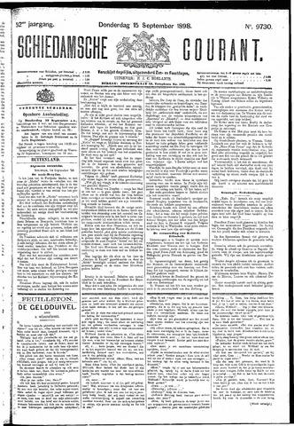 Schiedamsche Courant 1898-09-15