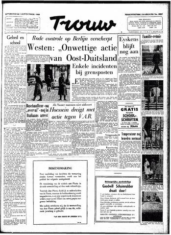 Trouw / De Rotterdammer 1960-09-01