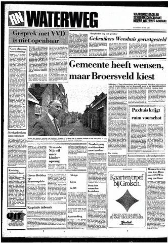 Rotterdamsch Nieuwsblad / Schiedamsche Courant / Rotterdams Dagblad / Waterweg / Algemeen Dagblad 1985-05-29
