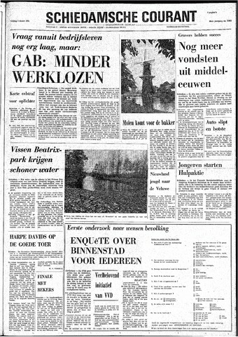 Rotterdamsch Nieuwsblad / Schiedamsche Courant / Rotterdams Dagblad / Waterweg / Algemeen Dagblad 1974-03-08