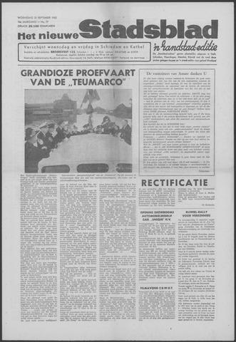Het Nieuwe Stadsblad 1962-09-26