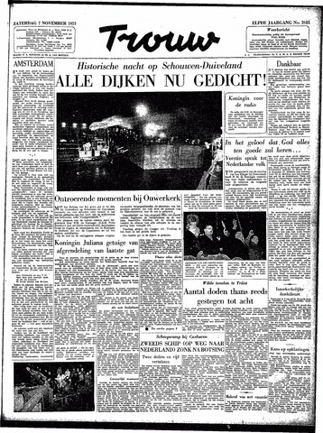 Trouw / De Rotterdammer 1953-11-07