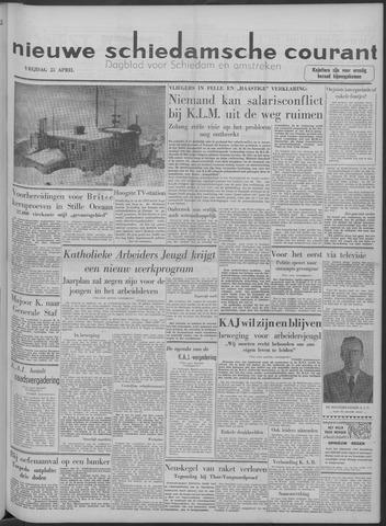 Nieuwe Schiedamsche Courant 1958-04-25