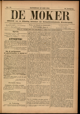 De Moker 1904-05-28