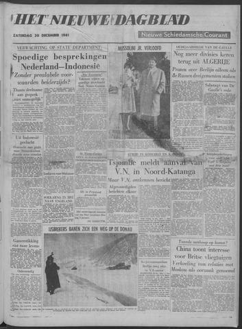 Nieuwe Schiedamsche Courant 1961-12-30