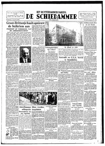 Rotterdamsch Parool / De Schiedammer 1947-08-07