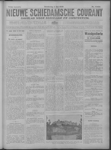 Nieuwe Schiedamsche Courant 1929-05-02