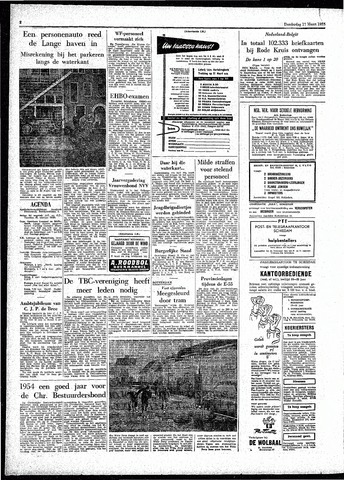 Rotterdamsch Parool / De Schiedammer 1955-03-17