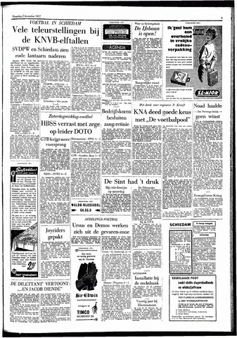 Rotterdamsch Parool / De Schiedammer 1957-12-02