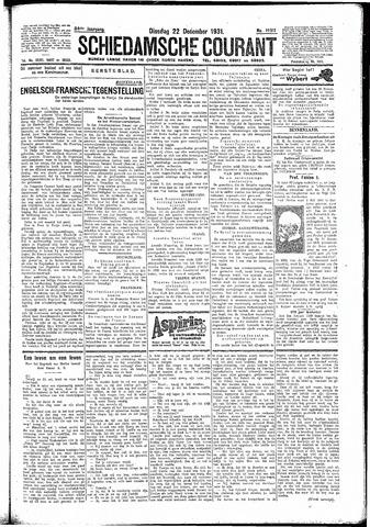 Schiedamsche Courant 1931-12-22