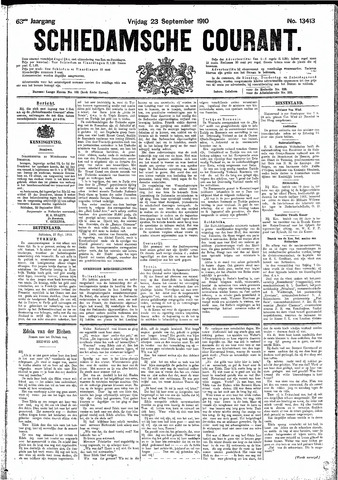 Schiedamsche Courant 1910-09-23