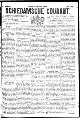 Schiedamsche Courant 1908-03-18