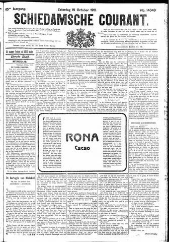 Schiedamsche Courant 1912-10-19