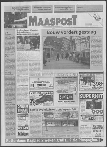 Maaspost / Maasstad / Maasstad Pers 1995-02-08