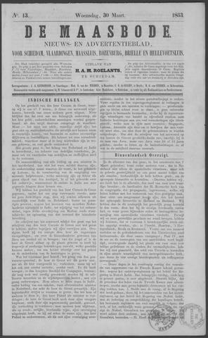 De Maasbode 1853-03-30