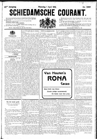 Schiedamsche Courant 1912-04-01