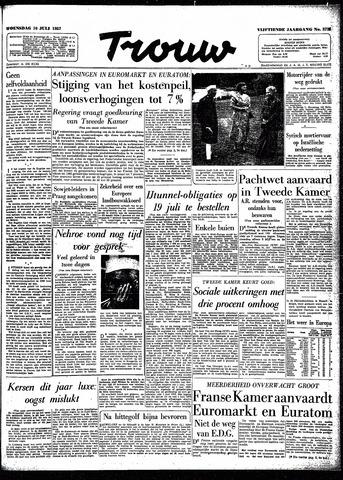 Trouw / De Rotterdammer 1957-07-10