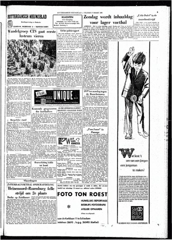 Rotterdamsch Nieuwsblad / Schiedamsche Courant / Rotterdams Dagblad / Waterweg / Algemeen Dagblad 1965-03-12