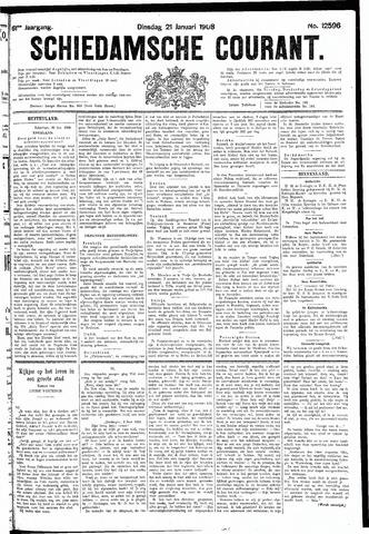 Schiedamsche Courant 1908-01-21