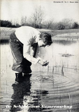 Schiedamse Gemeenschap (tijdschrift) 1958-03-01
