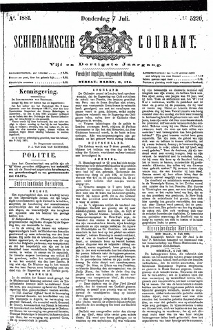 Schiedamsche Courant 1881-07-07