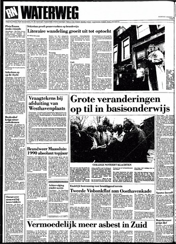 Rotterdamsch Nieuwsblad / Schiedamsche Courant / Rotterdams Dagblad / Waterweg / Algemeen Dagblad 1991-03-18