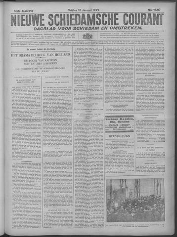 Nieuwe Schiedamsche Courant 1929-01-18