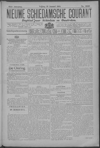 Nieuwe Schiedamsche Courant 1918-01-18