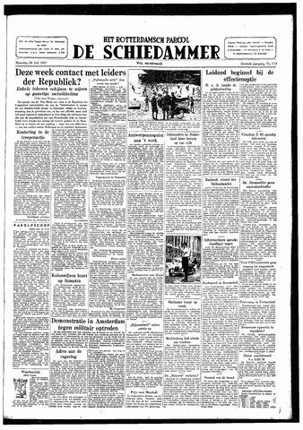 Rotterdamsch Parool / De Schiedammer 1947-07-28