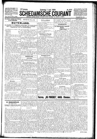 Schiedamsche Courant 1929-06-01