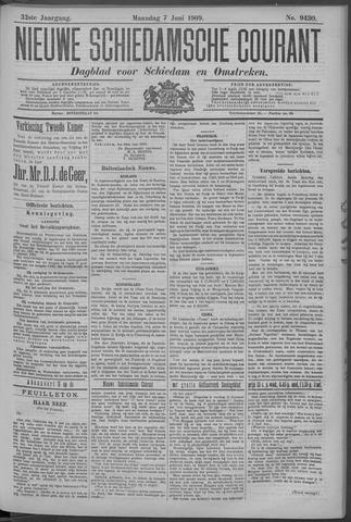 Nieuwe Schiedamsche Courant 1909-06-07