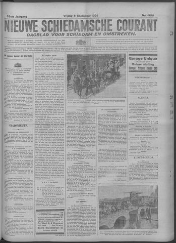 Nieuwe Schiedamsche Courant 1929-09-06