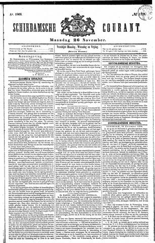Schiedamsche Courant 1866-11-26