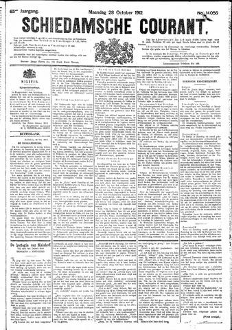 Schiedamsche Courant 1912-10-28