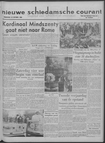 Nieuwe Schiedamsche Courant 1958-10-23