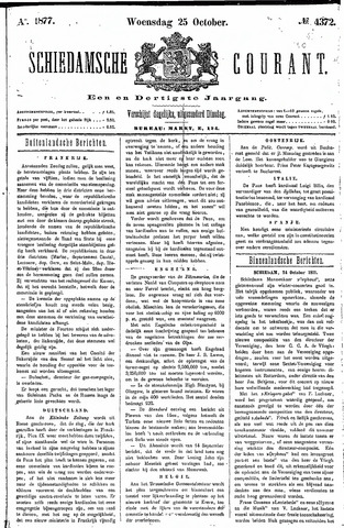 Schiedamsche Courant 1877-10-25