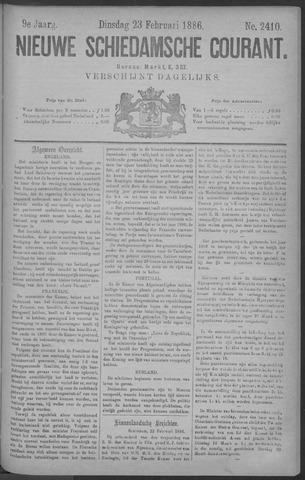 Nieuwe Schiedamsche Courant 1886-02-23