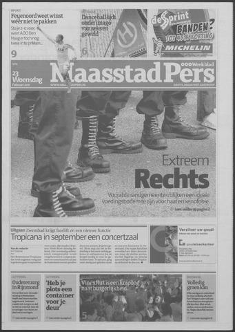 Maaspost / Maasstad / Maasstad Pers 2011-02-23