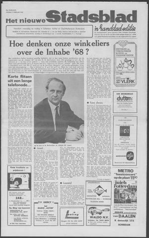 Het Nieuwe Stadsblad 1968-02-09