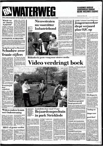 Rotterdamsch Nieuwsblad / Schiedamsche Courant / Rotterdams Dagblad / Waterweg / Algemeen Dagblad 1987-04-24