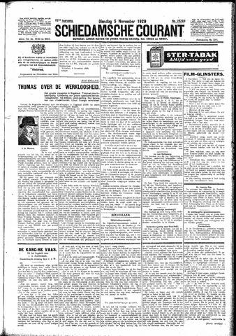 Schiedamsche Courant 1929-11-05