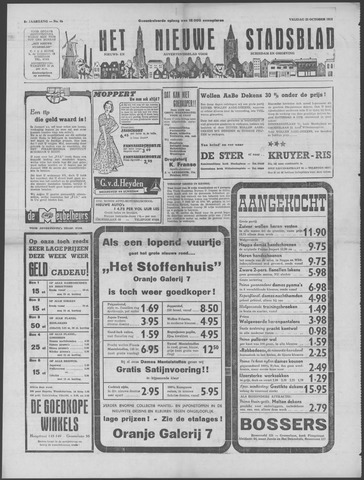 Het Nieuwe Stadsblad 1953-10-23