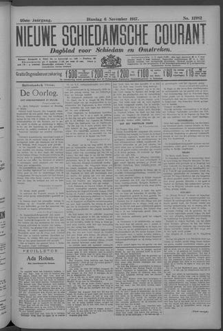 Nieuwe Schiedamsche Courant 1917-11-06