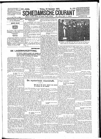 Schiedamsche Courant 1935-12-20