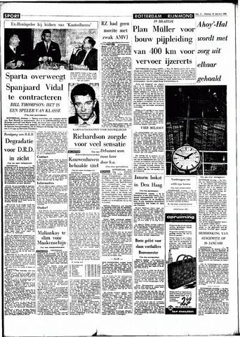 Rotterdamsch Parool / De Schiedammer 1966-01-18