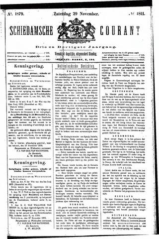 Schiedamsche Courant 1879-11-29